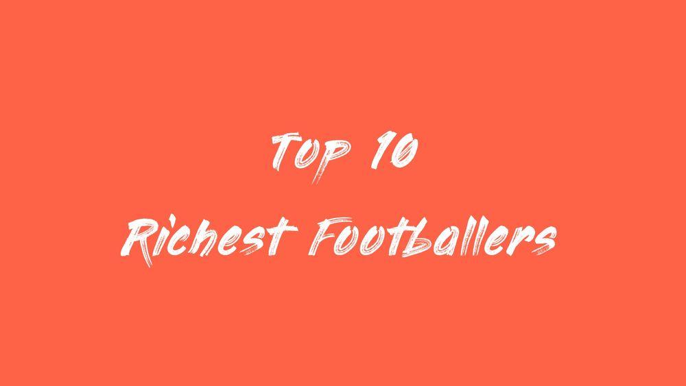 サッカー選手 長者番付 ランキング 2020